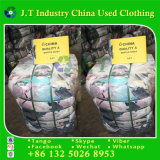 Winter verwendete Kleidung vom Korea-Winter-Hemd mit dem guten Verkauf