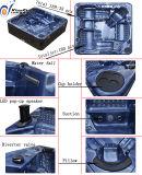 Cuba quente Jcs-16 dos TERMAS confortáveis acrílicos dos jatos do luxo 180 de Kgt