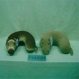 卸売によってカスタマイズされる動物のイルカUの形旅行首の枕