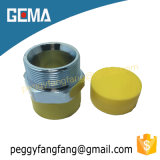 guarnición de manguito hidráulica de cobre amarillo neumática de la instalación de tuberías del manguito de aire 1b