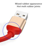 3 en 1 cable de datos del USB del cargador/sinc. para el teléfono móvil