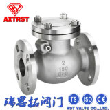 Тип 150/300 ANSI конца фланца задерживающего клапана качания литой стали