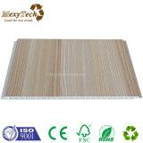 El panel material decorativo de la tarjeta de la pared del PVC del compuesto WPC