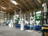 20 tonnellate completamente automatica per pianta unita della riseria di giorno