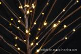 Decoração clara da corda ao ar livre do diodo emissor de luz da árvore da decoração para o Natal