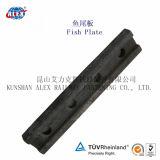 Fishplate da estrada de ferro para a asseguração de aço do trilho (BS100A)