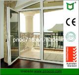 Двери Casement Famours строительного материала изготовления Шанхай алюминиевые