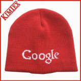冬のアクリルの昇進は帽子によって平手打ちされたジャカード帽子を編んだ