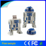 Movimentação por atacado do flash do USB do OEM Manufacter Star Wars D2r2 de China