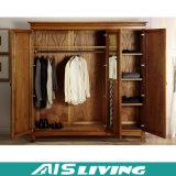 Kast van de Garderobe van de Schuifdeuren van de douane de Eenvoudige (ais-W185)