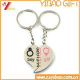 Porte-clés en métal de prix usine pour le cadeau promotionnel