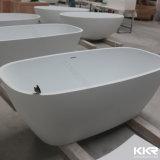 Una vasca da bagno d'inzuppamento indipendente di superficie solida acrilica da 52 pollici