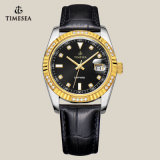 Van het Bedrijfs horloge van de Mensen van de Saffier van het Horloge van het kristal Horloge 72142