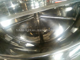 Bouilloire à cuire revêtue de maïs d'encombrement de chauffage de vapeur d'acier inoxydable