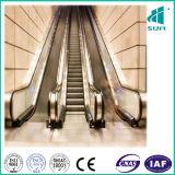 Rolltreppe mit HaarstrichEdelstahl
