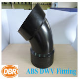 6 Inch Size 1/8 Bend Type ABS Dwv Fitting
