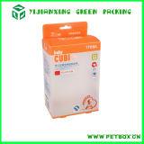 Коробка PP пластмассы Frosting прозрачная ясная упаковывая