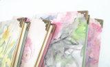 тетради бумаги книга в твердой обложке цветка 64k с медью (XLJ64128-X02)