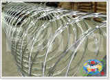 Sicherheit geschützter Rasiermesser-Stacheldraht (BTO-28)