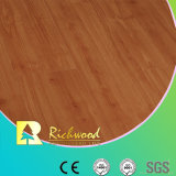 Commercial 12.3 E0 HDF Embossed Elm U-Grooved Stratifié Floor