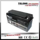 12V220ah 태양과 UPS 전원 시스템을%s 깊은 주기 젤 납축 전지