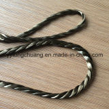 Basalt-Faser-verdrehtes Isolierungs-Dichtungs-Seil