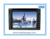 6.2インチスクリーンを持つ自在継手2 DIN車のDVDプレイヤー