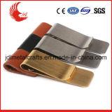clip matériel d'argent d'or de placage de bronze de taille de 50*25mm