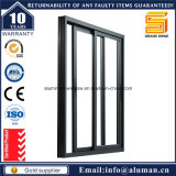 Elettroforesi Champagne Glass Aluminum Sliding Window con Security Grill