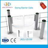 Seguridad de alta velocidad lujosa de la puerta de la barrera del oscilación del cilindro