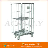 Restaurant Hotel를 위한 접히는 Roll Service Cart Table Trolley Container
