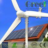 sistema da em-Grade do gerador de turbina do vento 5kw com Controller&Inverter