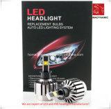 Farol do diodo emissor de luz da luz 4300k/6000k/8000k do carro do diodo emissor de luz para carros, caminhões H4