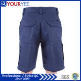 Shorts del lavoro del carico dell'azzurro di blu marino del trivello del cotone (YGK114)