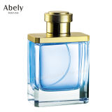 Botella de perfume de pulido de cristal pesada con perfume oriental