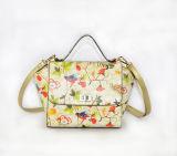 2016 بيع بالجملة نمو [بو] جلد يطبع نساء حقيبة يد