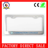 Embossed Logo Custom License Plate Frame