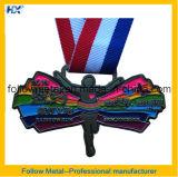 Medalha da raça da alta qualidade 5k para a estação de acabamento