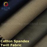 Sarga de algodón elástico de tela con piel Peached
