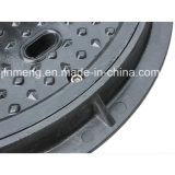 Polyester Round Manhole Cover B125 C/O 450mm mit Screw Lock