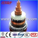 Средств кабель напряжения тока 11kv, Swa привязывает, одиночный кабель сердечника