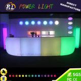 Cor do RGB que muda a mobília iluminada do evento da barra mobília plástica