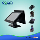 "15 ""Touch All in One POS com tela dupla de 15"""