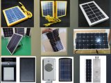 lâmpada de rua 50W solar Integrated com a microplaqueta do diodo emissor de luz de Bridgelux