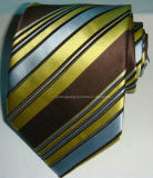 Cravate du jacquard tissée par soie des hommes de promotion