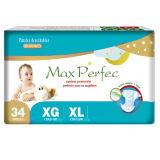 Нежность и Breathable Baby Diapers (синь, XL)