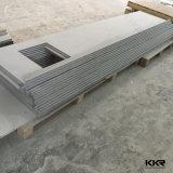 Dissipador de superfície contínuo da vaidade do hotel do projeto novo de Kingkonree