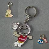 Kundenspezifisches Metall Keychain mit druckgießenfirmenzeichen (GZHY-KA-003)