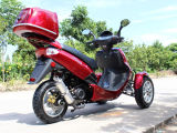 150cc emballant le scooter permissible de la rue 3 Sheel de mobilité d'engine de gaz
