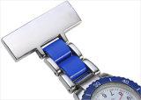 O relógio o mais novo da enfermeira do metal do molde 2016